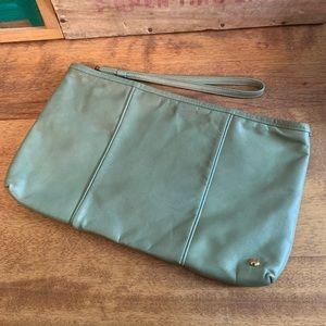 Vintage Halston Heritage clutch wristlet purse